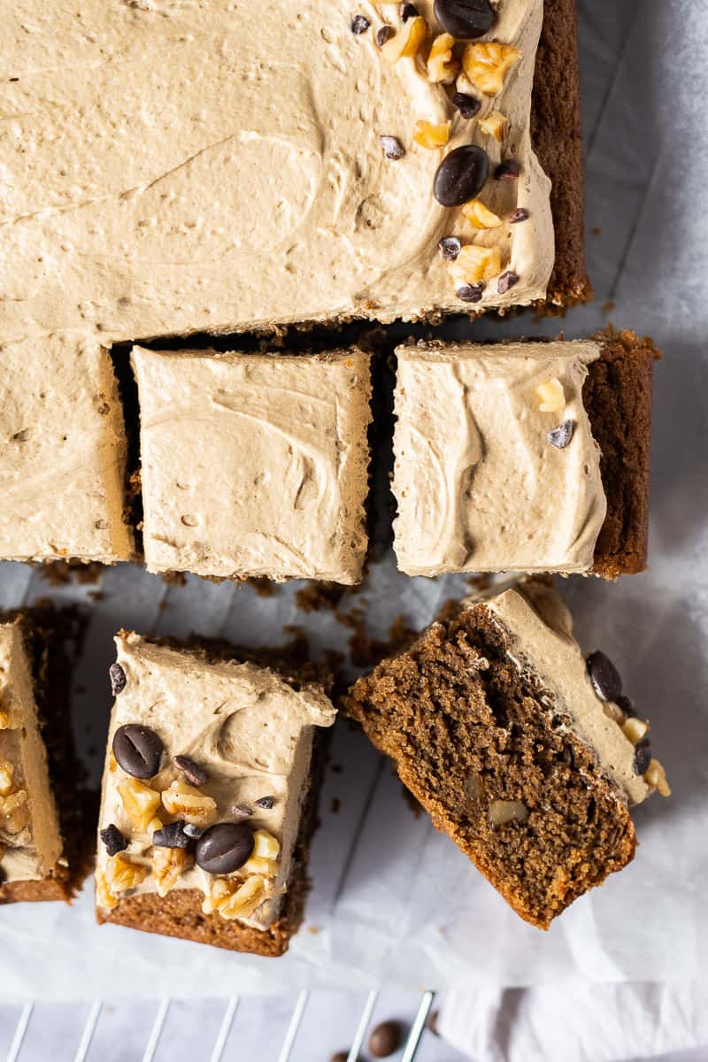 Vegan Coffee And Walnut Cake Domestic Gothess