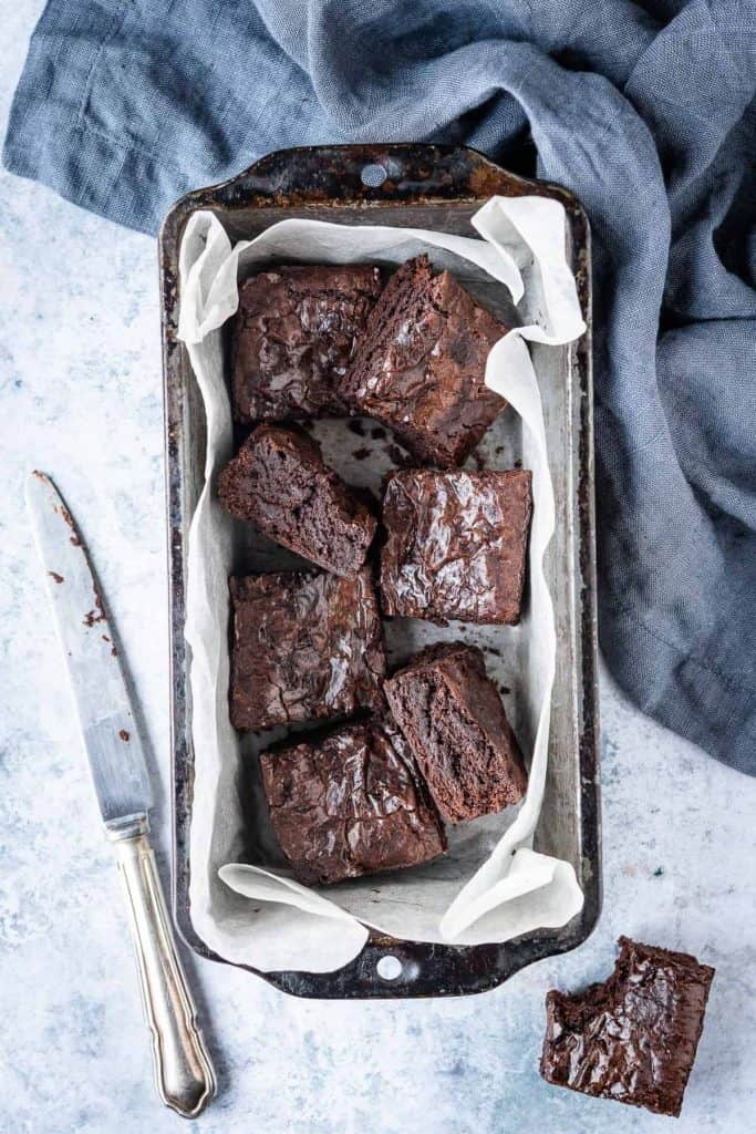 Small Batch Vegan Brownies Domestic Gothess