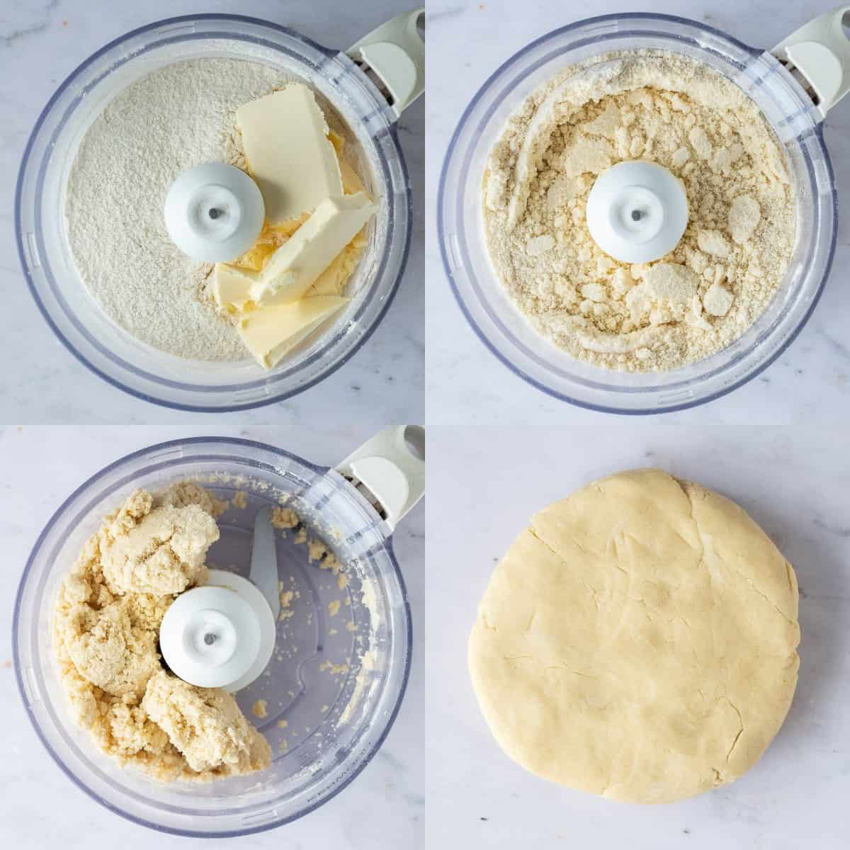 step 1 - making the pastry