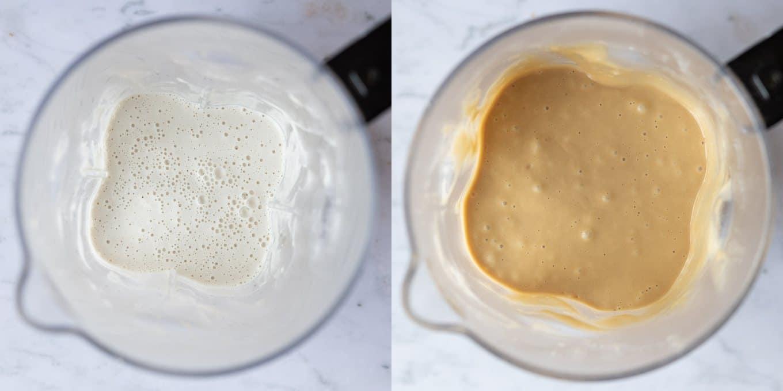 step 2 - blending the ingredients