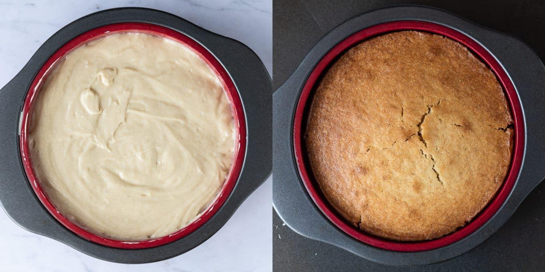 Step 3 - baking the cake.